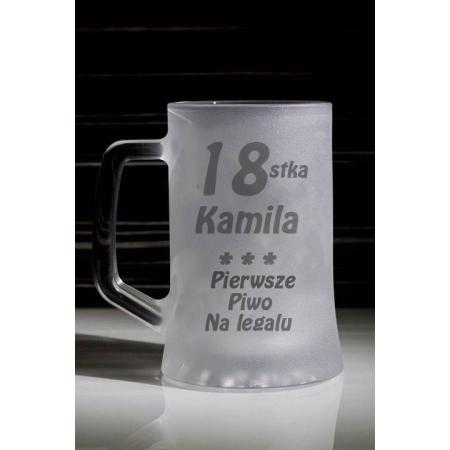 Kufel Pierwsze Piwo na Legalu