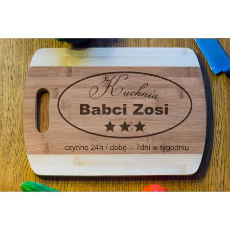 Deska Bambusowa Kuchnia Babci