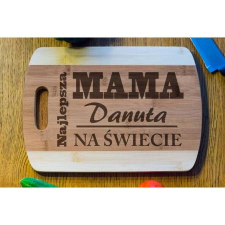 Deska Bambusowa Mama Najlepsza Na Świecie