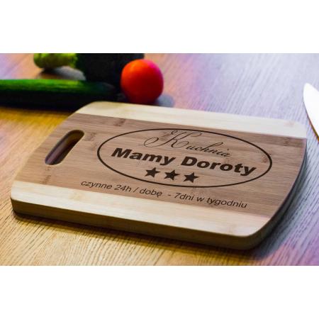 Deska Bambusowa Kuchnia Mamy