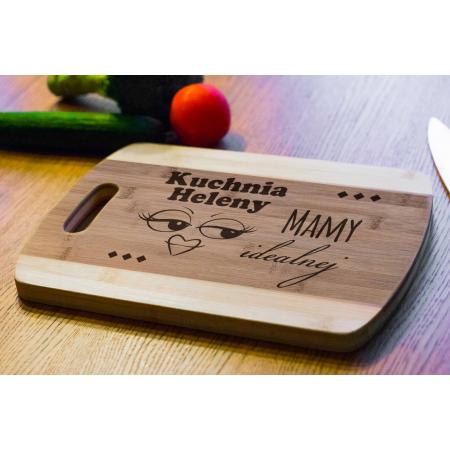 Deska Bambusowa Kuchnia Mamy Idealnej