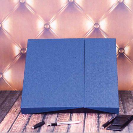 Zestaw Kalendarzy Ogromne podziękowania blue