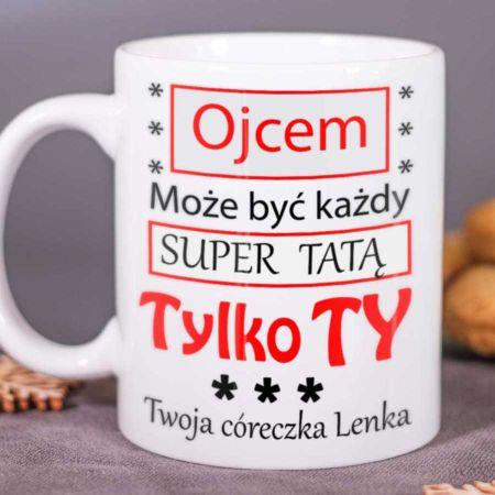Kubek dla Taty - Super Tata